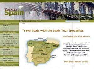 Totally Spain Website