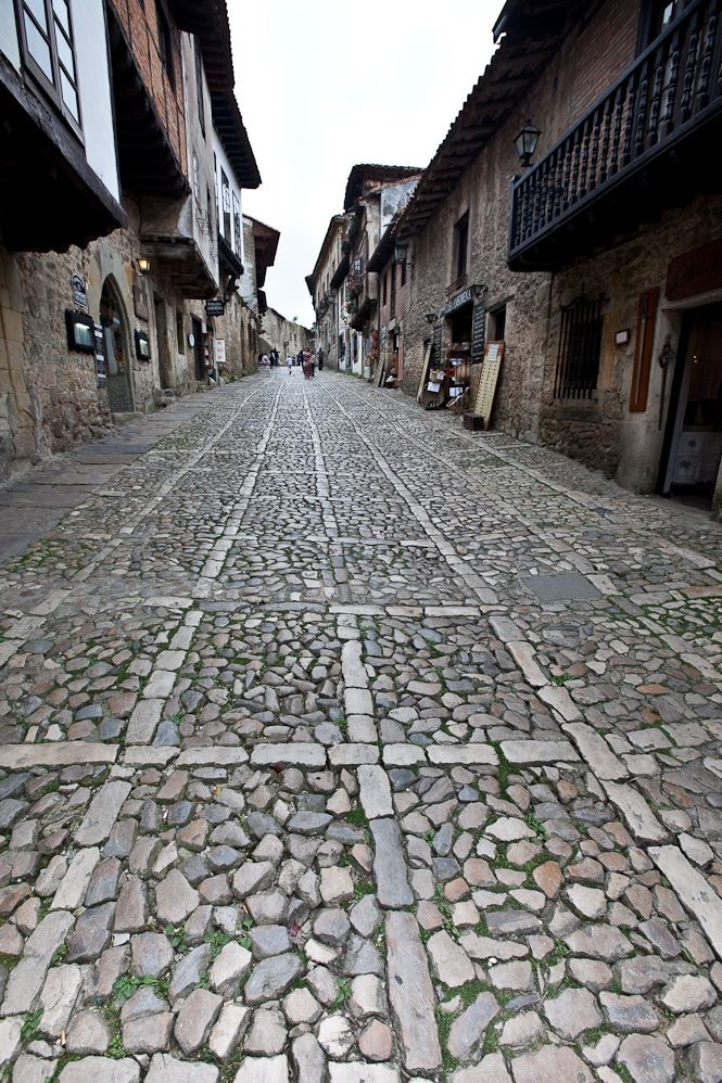 Northern Spain Cantabria Santillana del Mar streets Colegiata The Best Way to Holiday in Northern Spain
