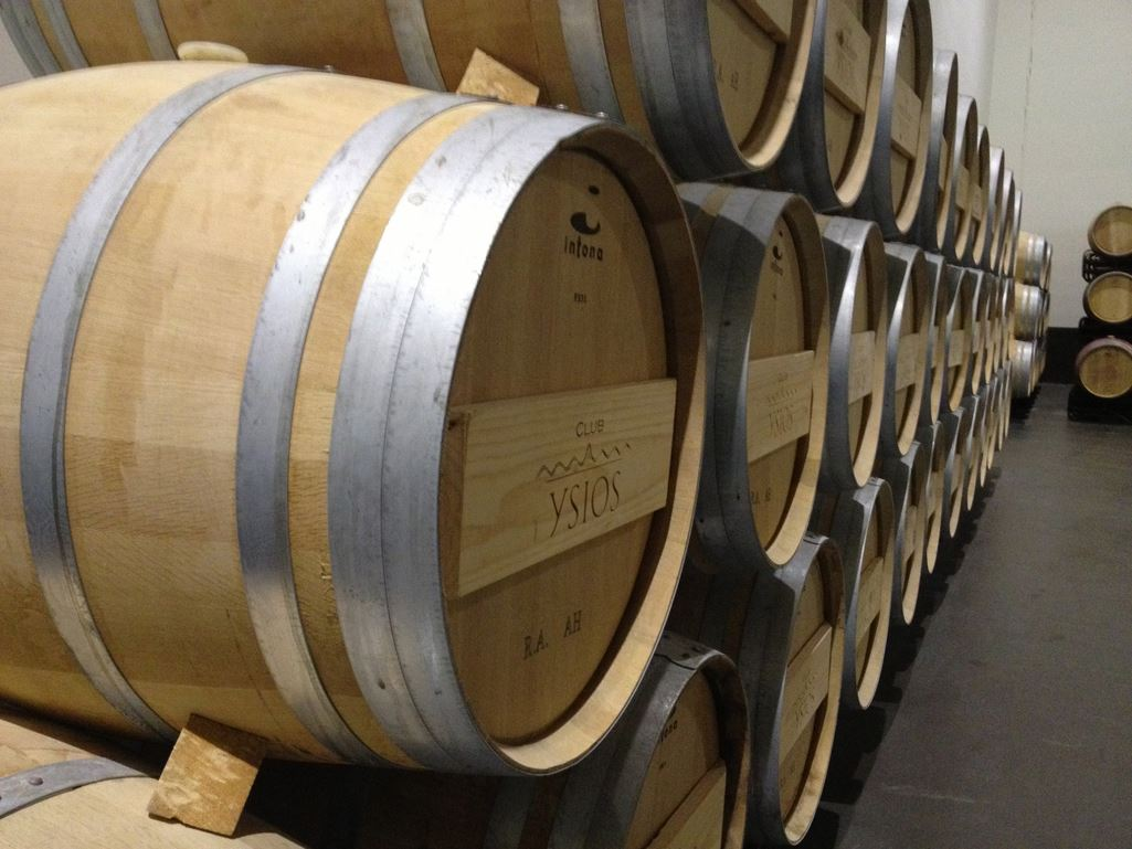 Barrel Oak Wine Winery La Rioja Ysios