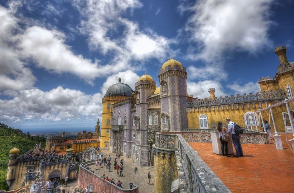 Sintra Portugal castle Mudejar
