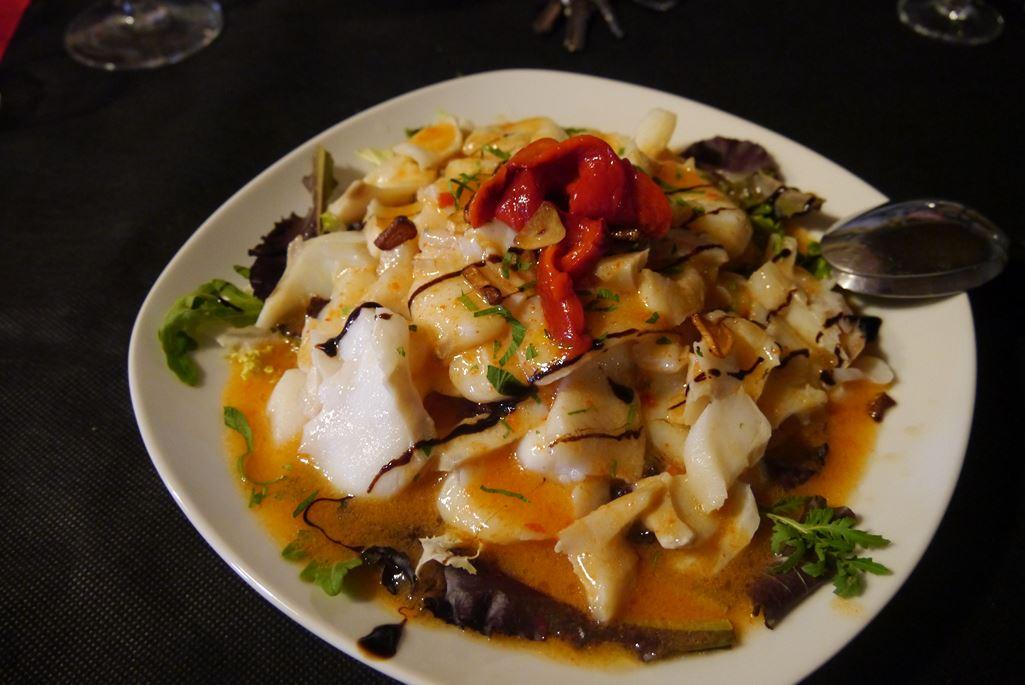 Lunch at the Vidular Bodega in the Costa de Cantabria