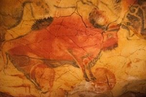 Cave art Cantabria Northern Spain