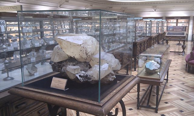 niche museums Madrid Geology