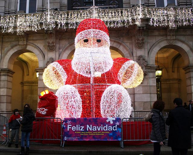 Spain Christmas Santa Clause