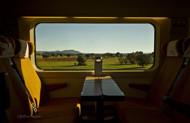 Totally Spain 2014 creative itineraries high-speed AVE train