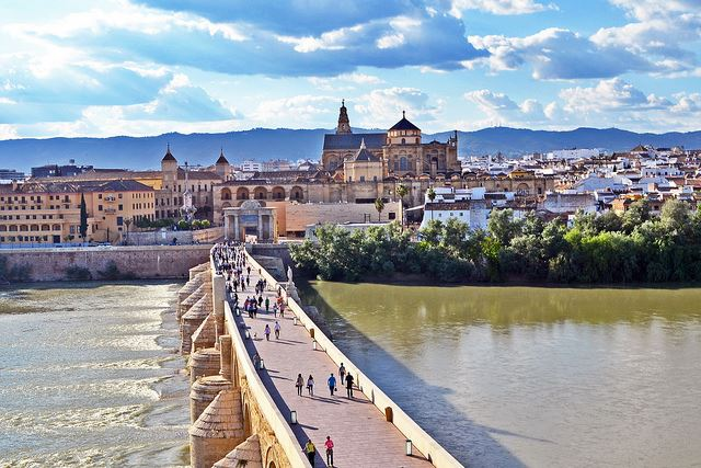 Puente bridge spain Spanish Madrid Barcelona Seville cordoba bridges in Spain