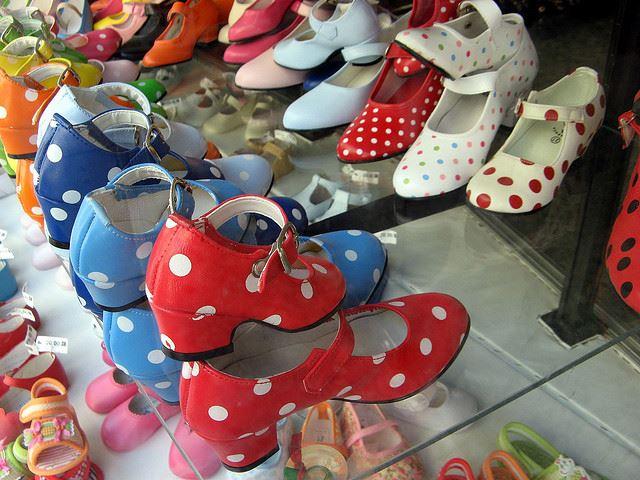 Totally Spain artisan shoes flamenco heels
