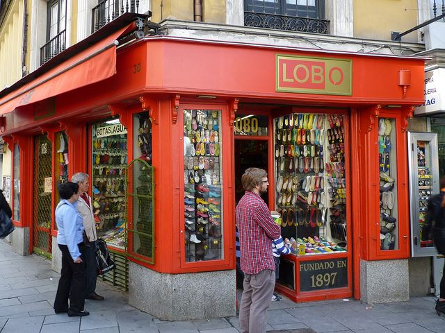 Shoe Stores In Madrid Spain