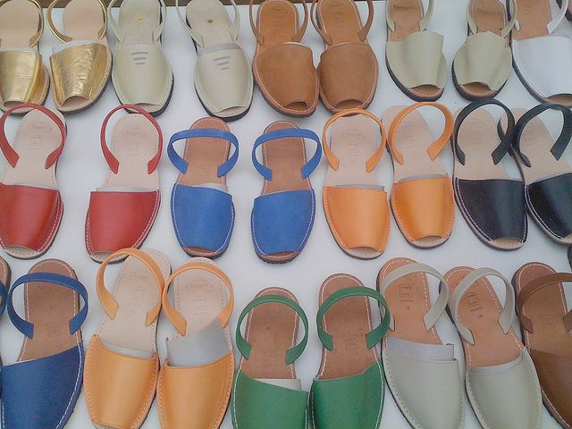Totally Spain artisan shoes menorquinas abarcas sandals