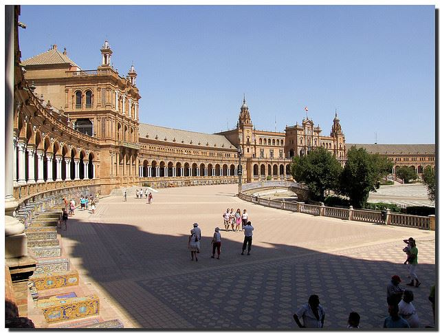 Totally Spain family holidays Spain Seville Plaza de Espana