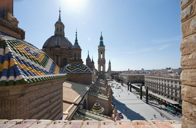 Totally Spain Mudejar Zaragoza Aragon Basilica of Our Lady of Pilar