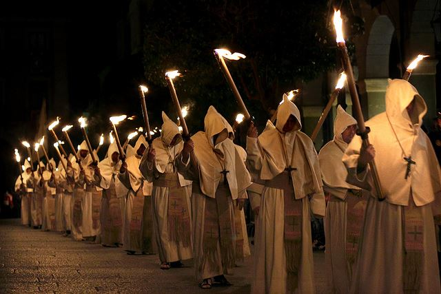 Easter week Semana Santa Spain