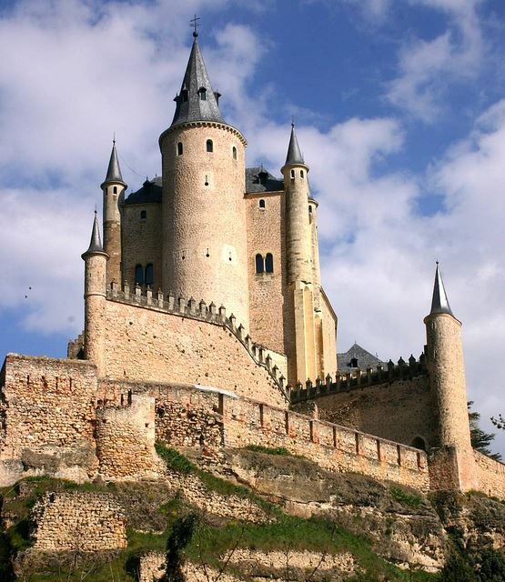 Totally Spain family holidays Segovia Alcazar Disney