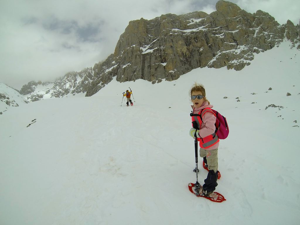 Totally Spain Picos de Europa guide Carlos snow shoe