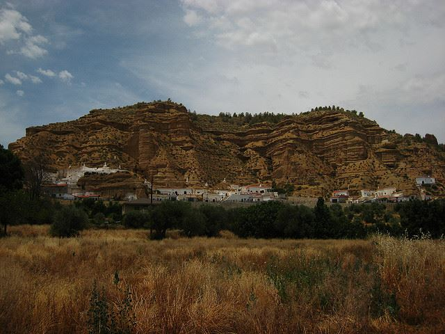 hidden Andalusia Spain cave houses Guadix unusual Andalusia
