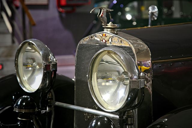 Totally Spain stork Hispano Suiza vintage classic car museums Salamanca Spain car museums in Spain
