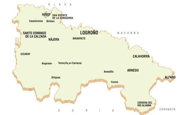 Rioja Region Spain Map.La Rioja Winery Region Award Winning Tips Totally Spain Travel Blog