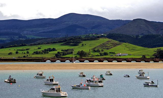 Cantabria beach summer holidays Spain