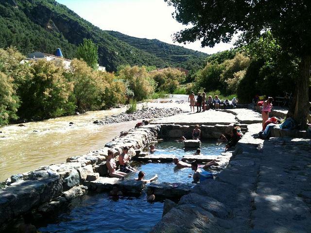 La Rioja Winery spa thermal springs hot