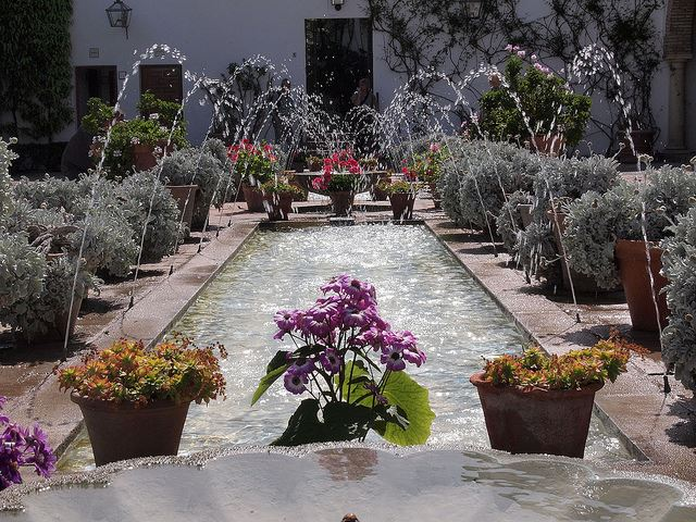 gardens parks grounds spain spanish cordoba gardens in spain