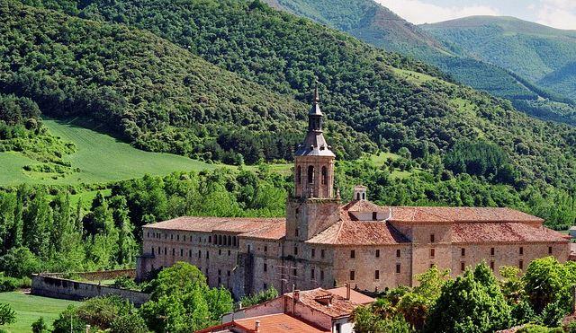 La Rioja Winery monastery Yuso Suso