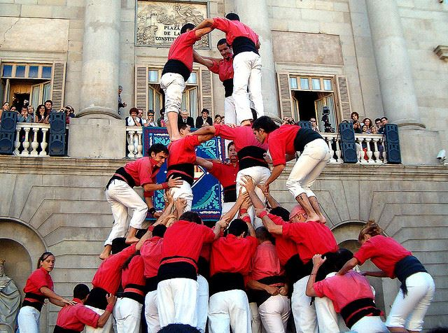 Festivals fiestas Spain Merce BArcelona