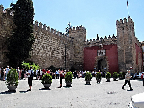 Mudejar Spain fortress Seville Game of Thrones