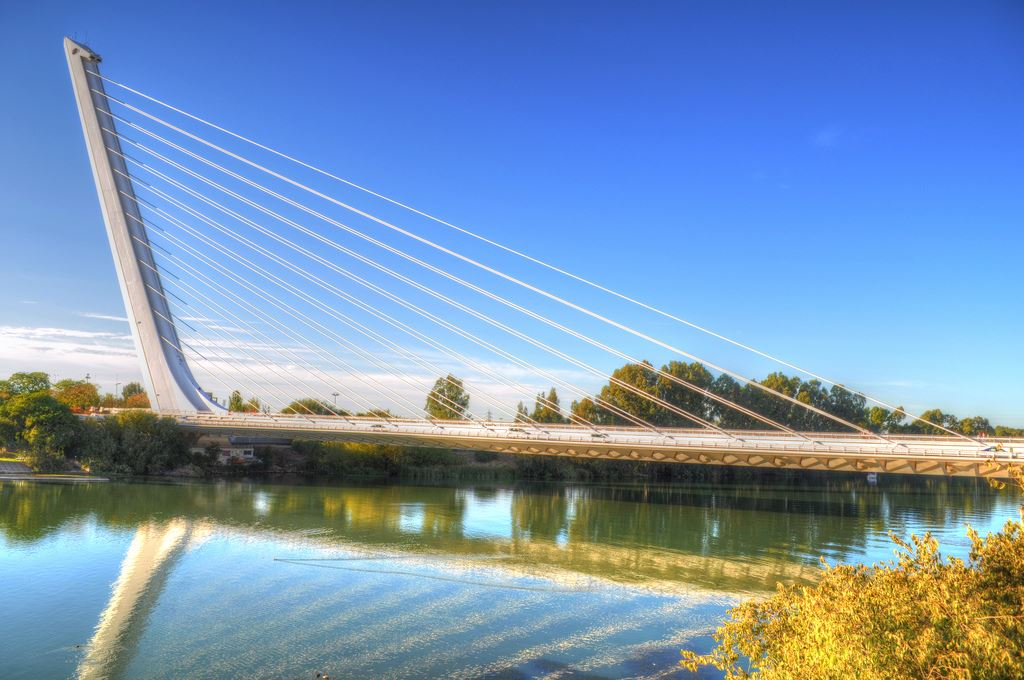 Puente bridge spain Spanish Seville Madrid Barcelona Seville bridges in Spain