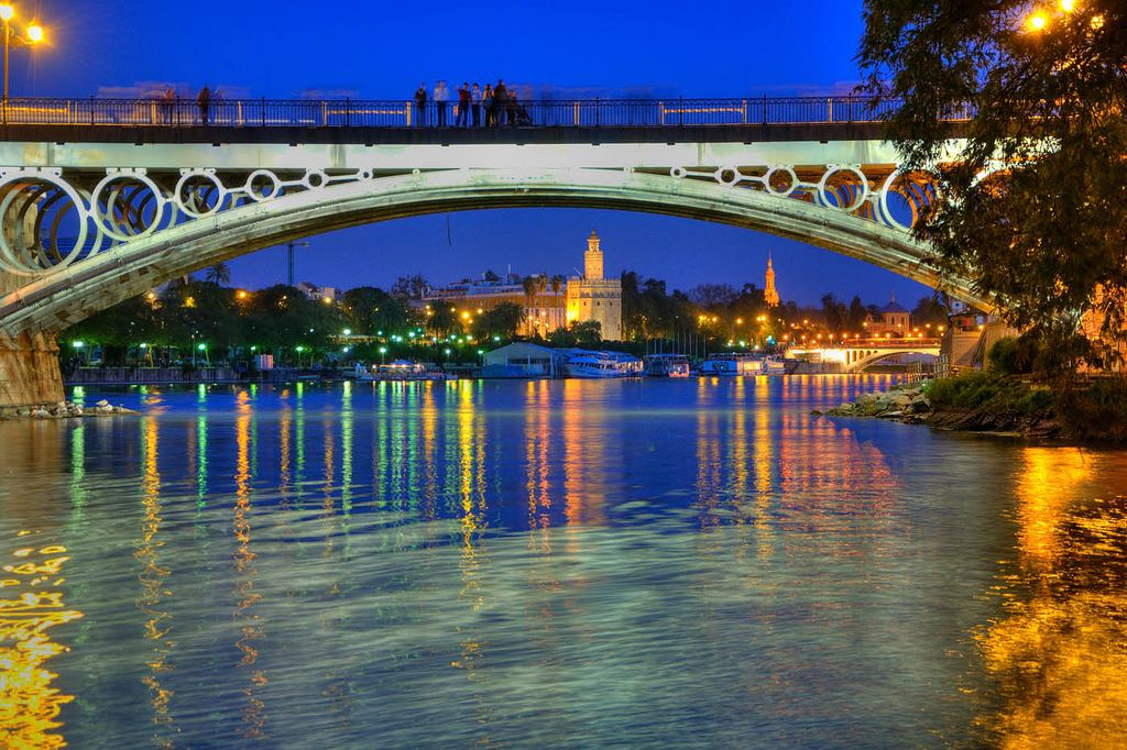 Puente bridge spain Spanish Madrid Barcelona Seville bridges in Spain