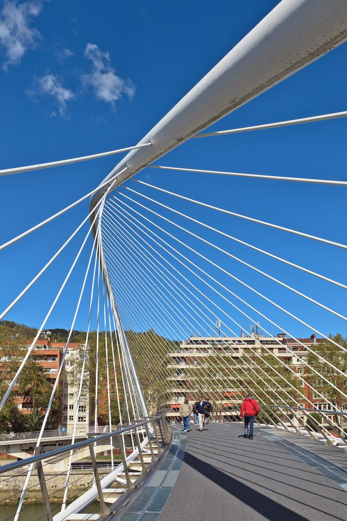 Puente bridge spain Spanish bilbao basque country Madrid Barcelona Seville bridges in Spain