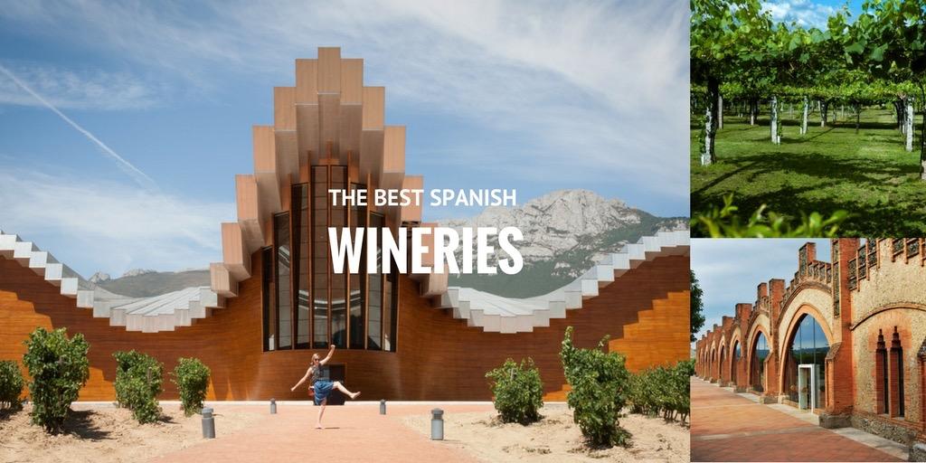 best wineries in spain
