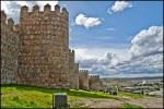 Medieval walls muralla villas towers defence cities protection Spanish