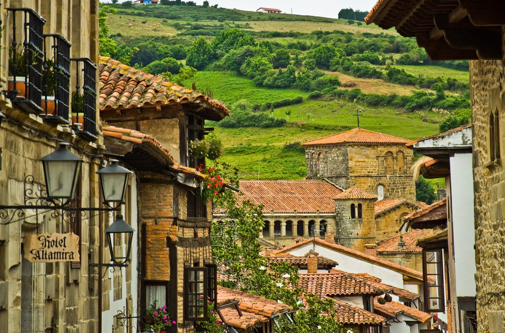 medieval retro prehistory old-world history Northern Spain Green