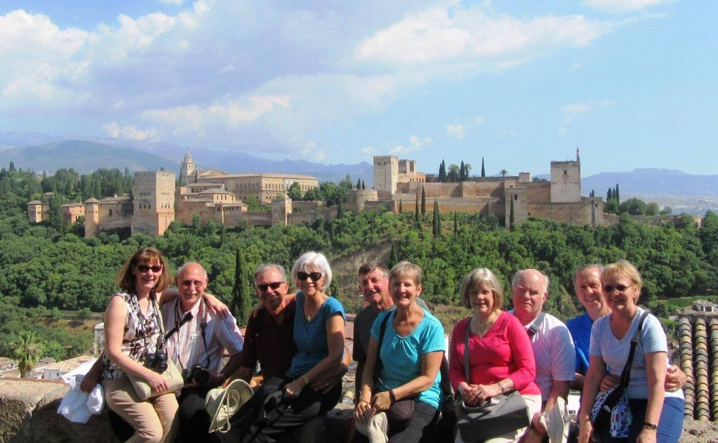 visiting the alhambra in granada