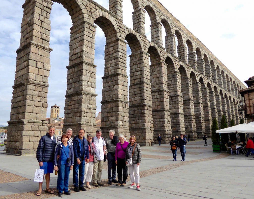 over 50s travel in Spain segovia