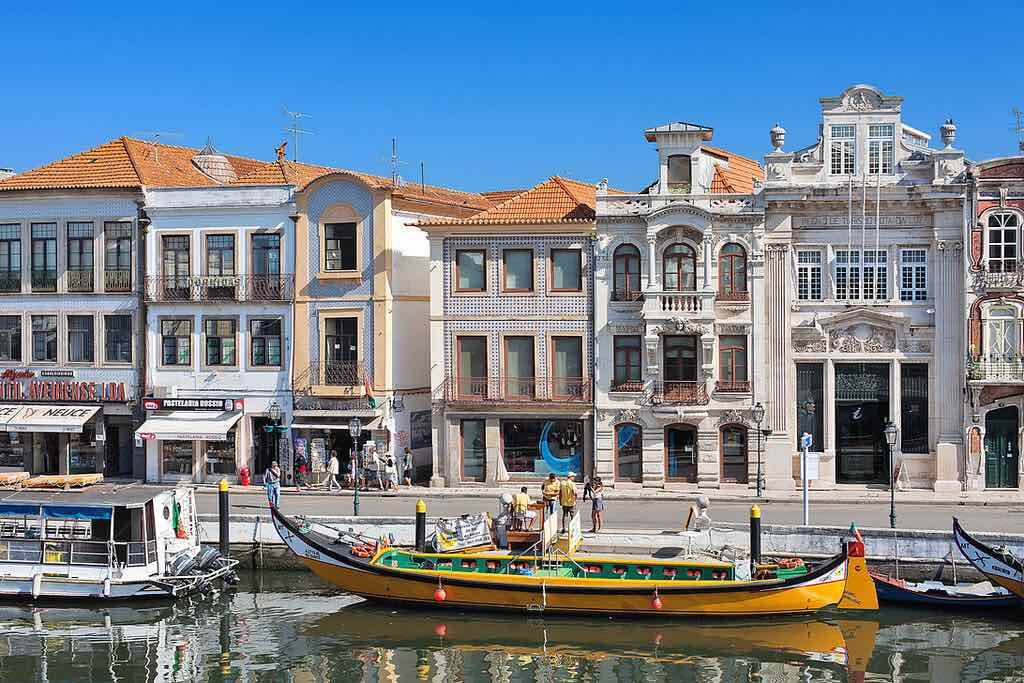 Portugal parador hotel boat trip canal