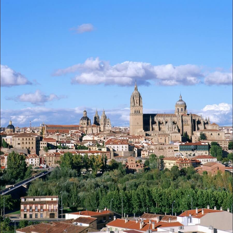 cathedrals Salamanca UNESCO Spain