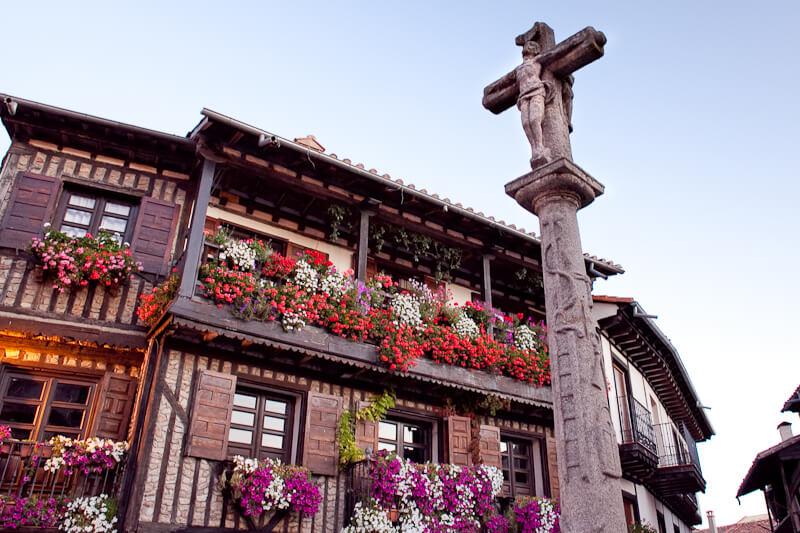 popular charming Spanish medieval town Spain