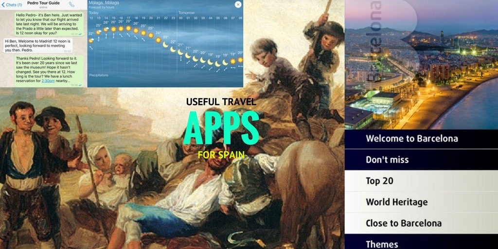 travel smartphone wifi museums currency language maps restaurants apps