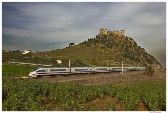 high speed train in Spain
