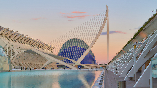 architectural touring in Spain
