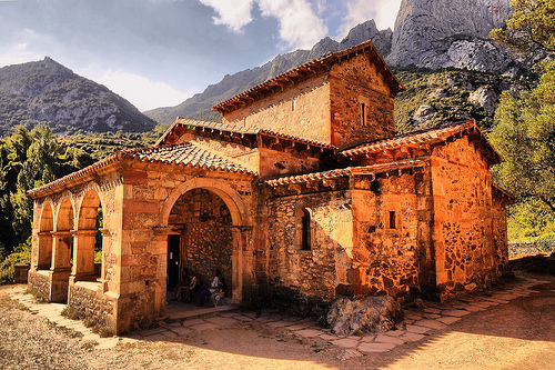 Liebana church St James Way Cantabria