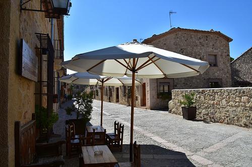 Pedraza charming town Zuloaga museum Ribera del Duero