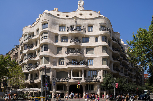 Gaudi architecture design Barcelona Catalonia Spain