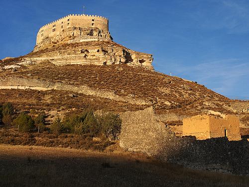 alcazar castle spain spanish castile castilla curiel
