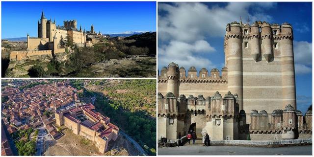 alcazar castle castillo Spain Spanish collage