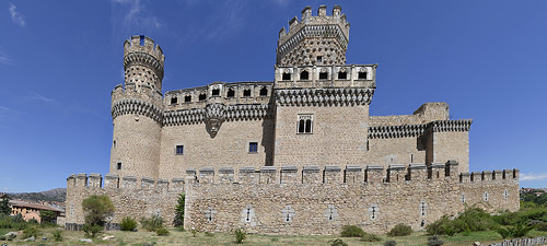 alcazar castle spain spanish castile castilla madrid