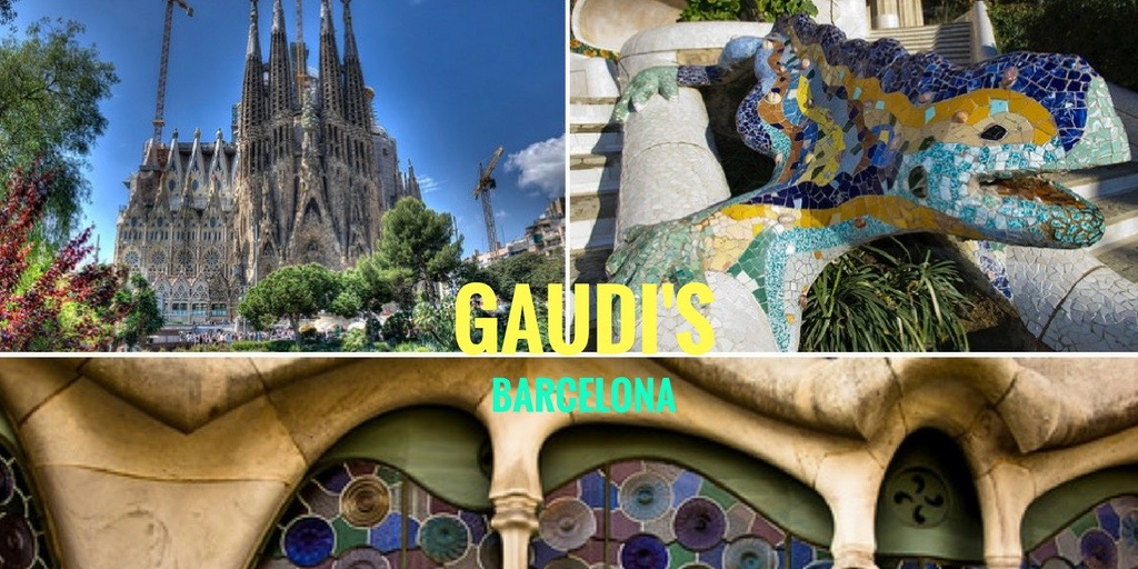 Gaudi architect architecture Barcelona Catalonia Spain