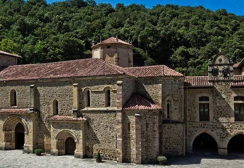monastery mountains lignum crucix toribio Cantabria Spain