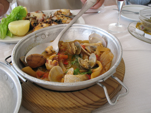 seafood meals restaurants Alentejo Portugal